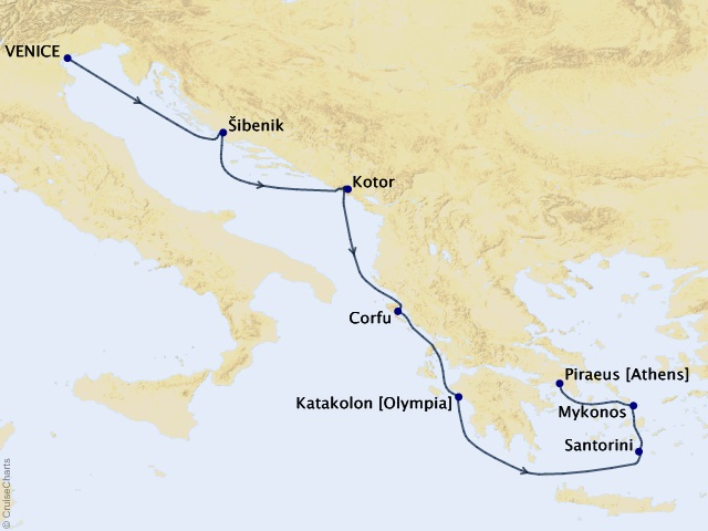 7-night Adriatic and Greece Voyage