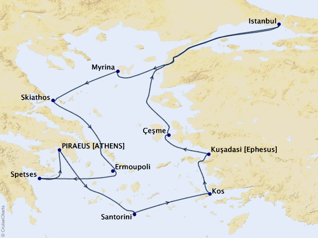 12-night Greek Isles and Golden Horn Cruise