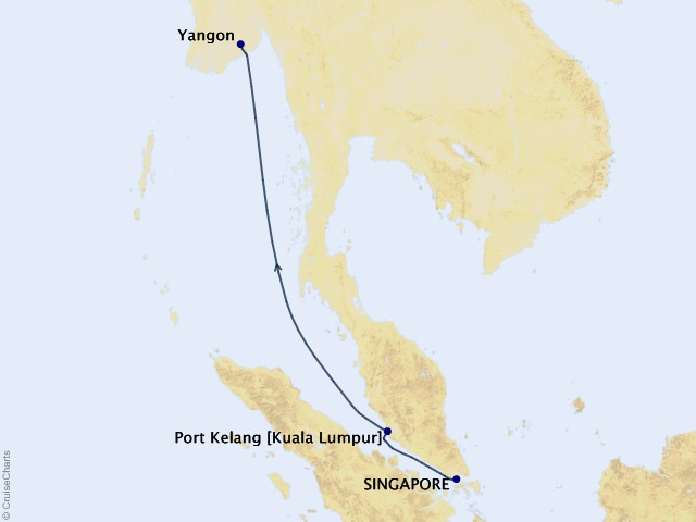 5-night Asia Cruise