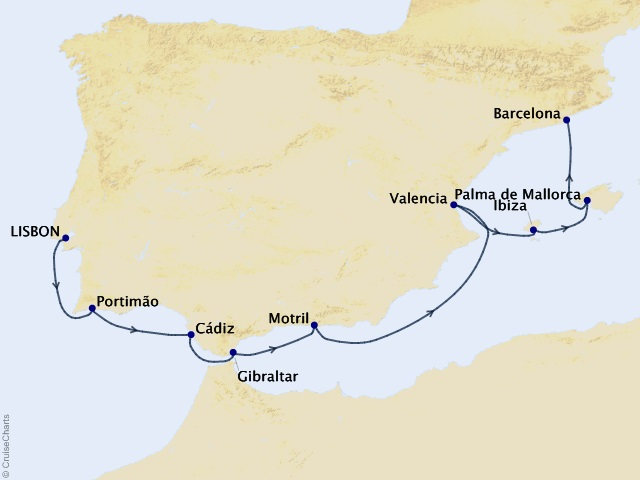 9-night Mediterranean Cruise