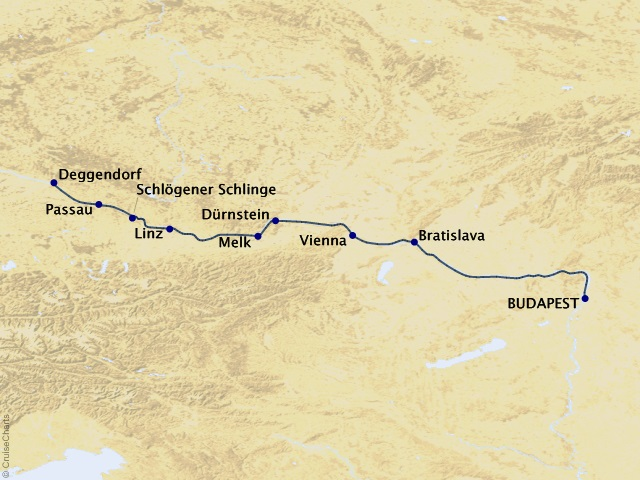 7-night Danube Dreams Westbound Cruise