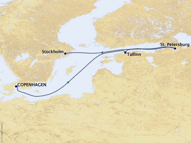 7-night Northern Europe Cruise