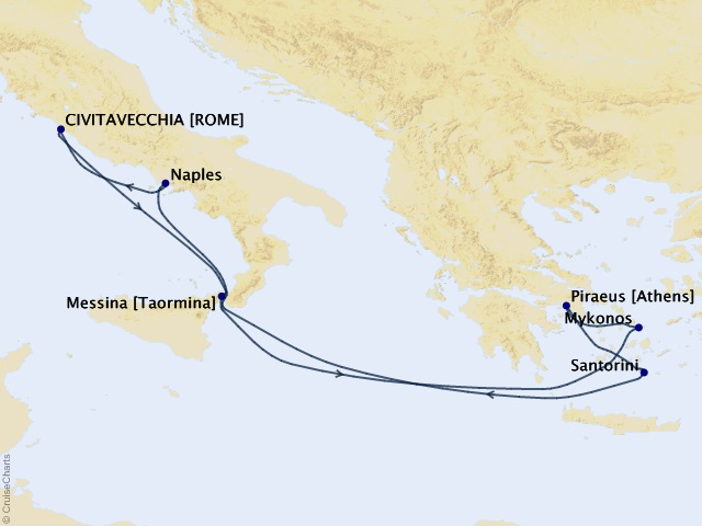 8-night Greek Isles Cruise