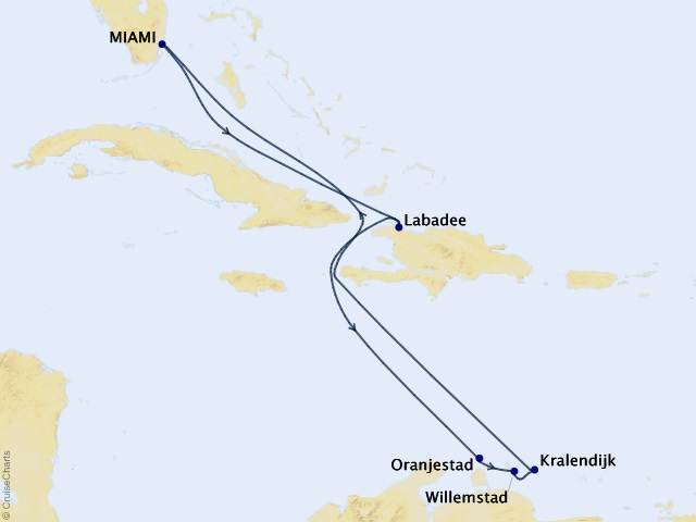 9-night Southern Caribbean Cruise