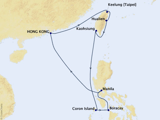12-night Philippines and China Voyage