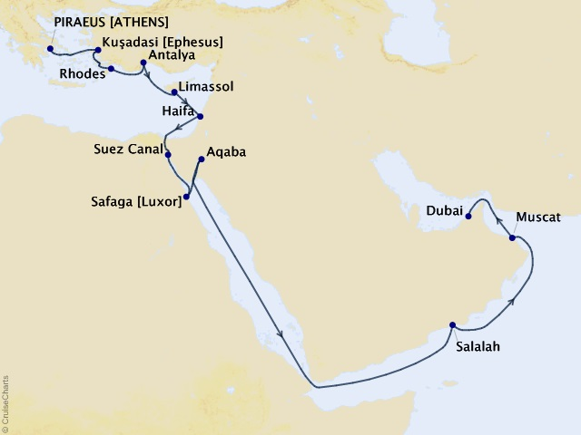 20-night Whispers of Antiquity Cruise