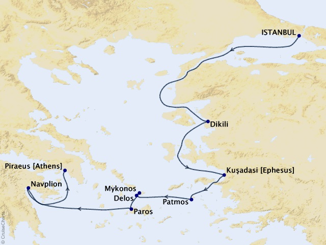 7-night An Exploration of World Affairs – Sailing the Aegean Sea Cruise