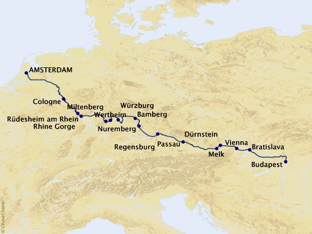 14-night Magnificent Europe Cruise