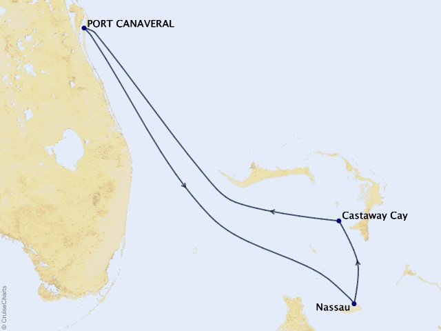 4-night Bahamas from Port Canaveral Cruise