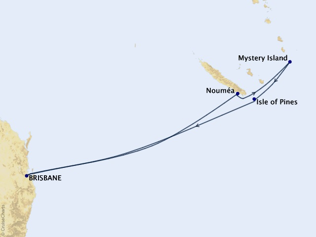 8-night South Pacific Cruise