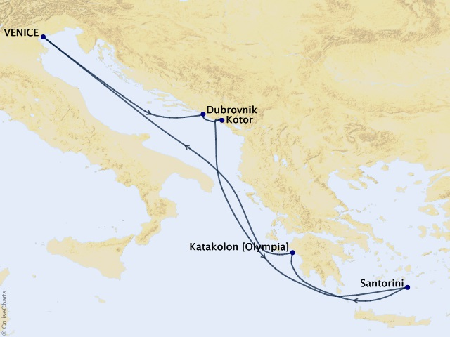 7-night Greece & Croatia Cruise