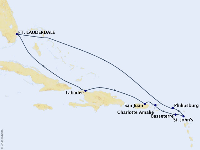 10-night Southern Caribbean Cruise