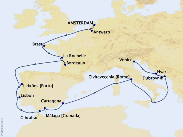 17-night European River Explorer Cruise | Frosch Vacations
