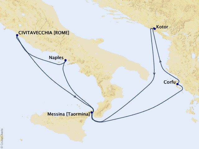 7-night Mediterranean and Adriatic Cruise