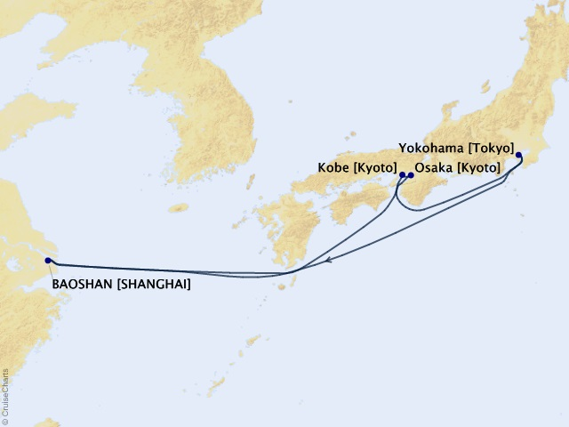7-night Best of Japan Cruise