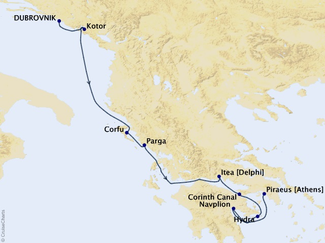 7-night Adriatic & Ionian Reflections Cruise