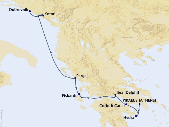 7-night Adriatic Luxury Cruise
