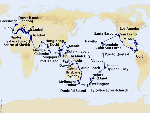 df7121138a5c 160-night 2020–2021 Viking World Cruise