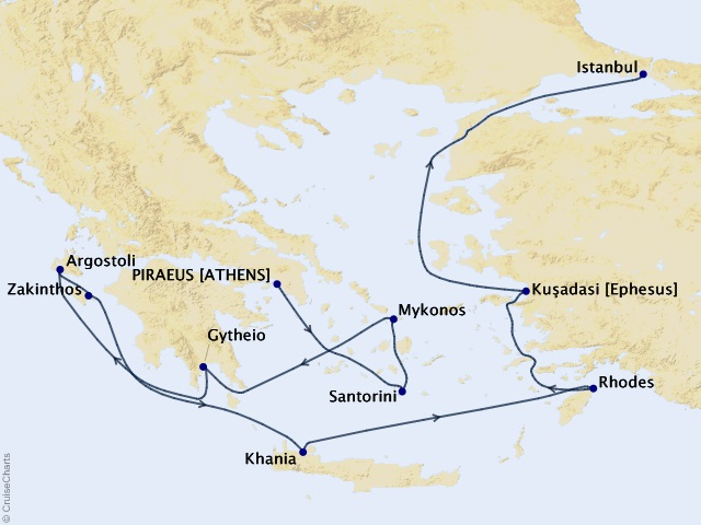 10-night Athens (Piraeus) to Istanbul Cruise | Frosch Vacations