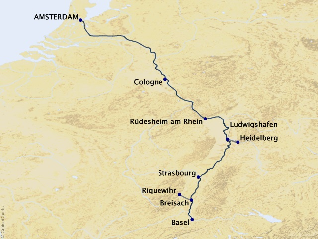 7-night Captivating Rhine Cruise