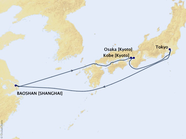 8-night Best of Japan Cruise