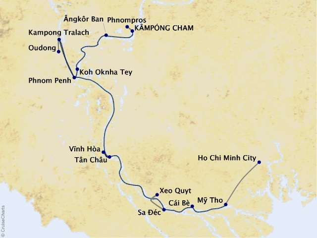 7-night Riches of the Mekong Cruise