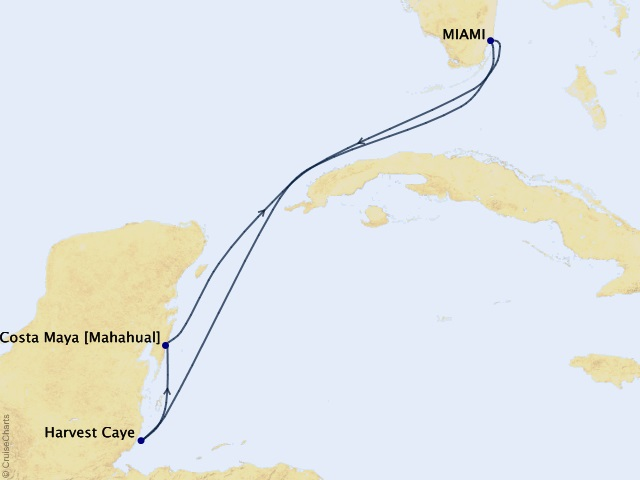 5-night Western Caribbean Cruise