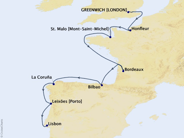 11-night Northern Europe Cruise