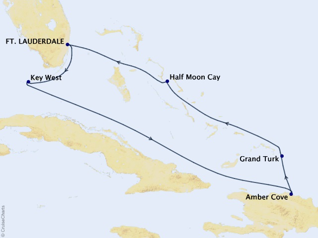 7-night Tropical Caribbean Cruise