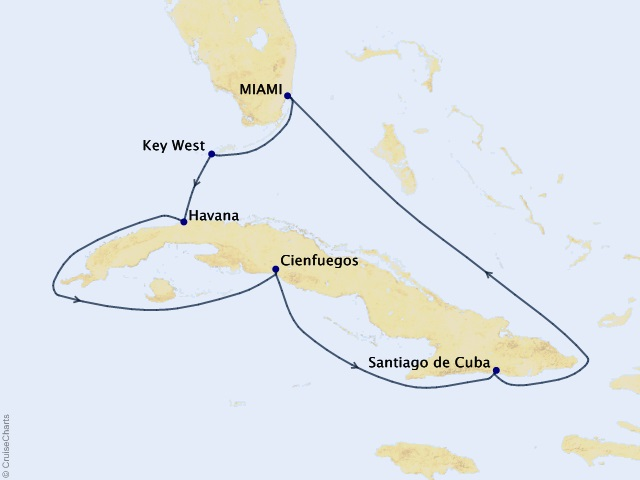 9-night Cuba Intensive Voyage