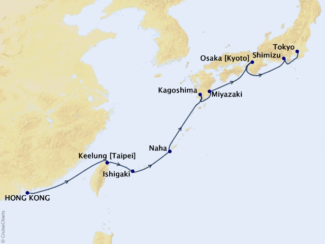 12-night Journey to Japan Cruise