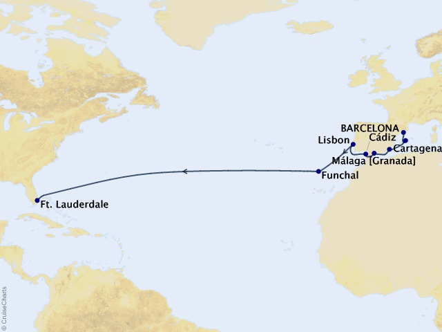 15-night Passage to America Cruise