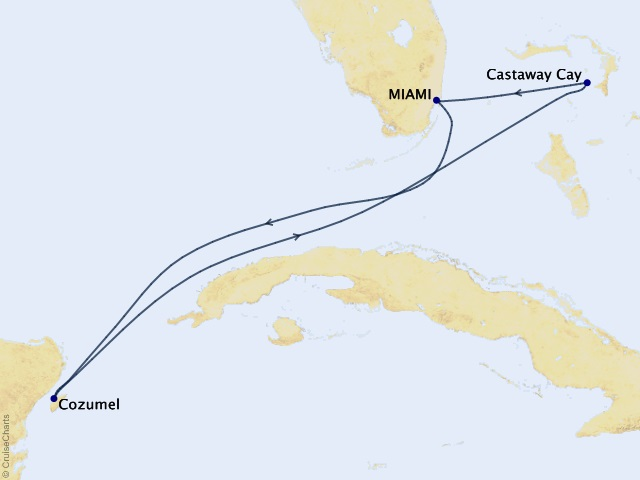 5-night Western Caribbean from Miami Cruise