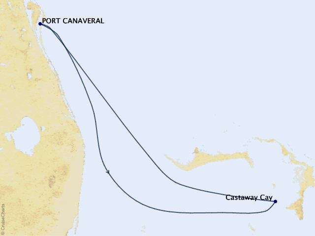 3-night Bahamas from Port Canaveral Cruise