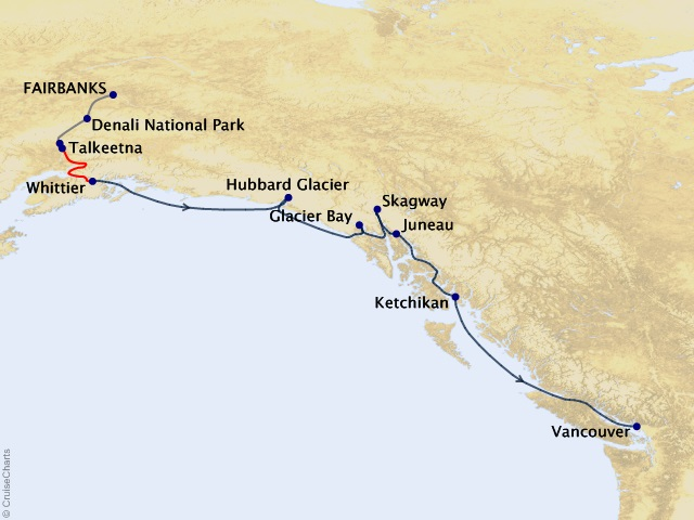13-night Denali Explorer Cruisetour #JB6