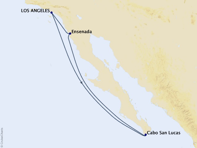 5-night Mexico from Los Angeles Cruise