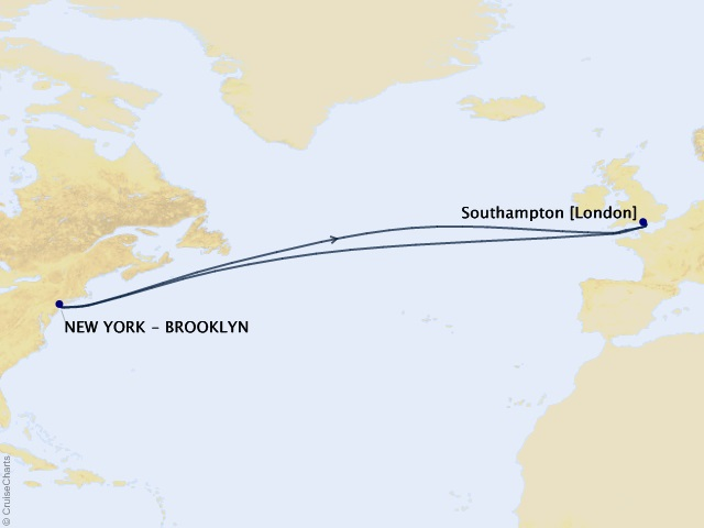 14-night Roundtrip Transatlantic Crossing Cruise