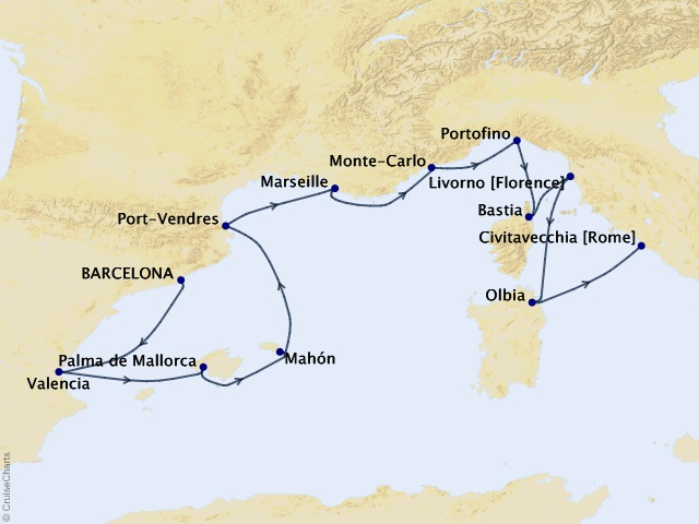 11-night Emperors, Kings & Vicars Cruise