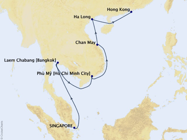 14-night Thailand & Vietnam Cruise