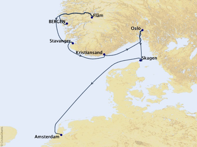7-night Viking Shores & Fjords Cruise
