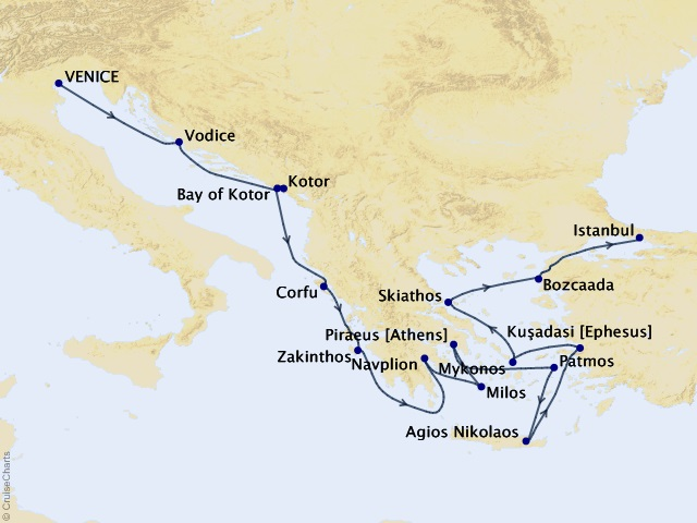 14-night Golden Greek Isles and Ephesus Cruise